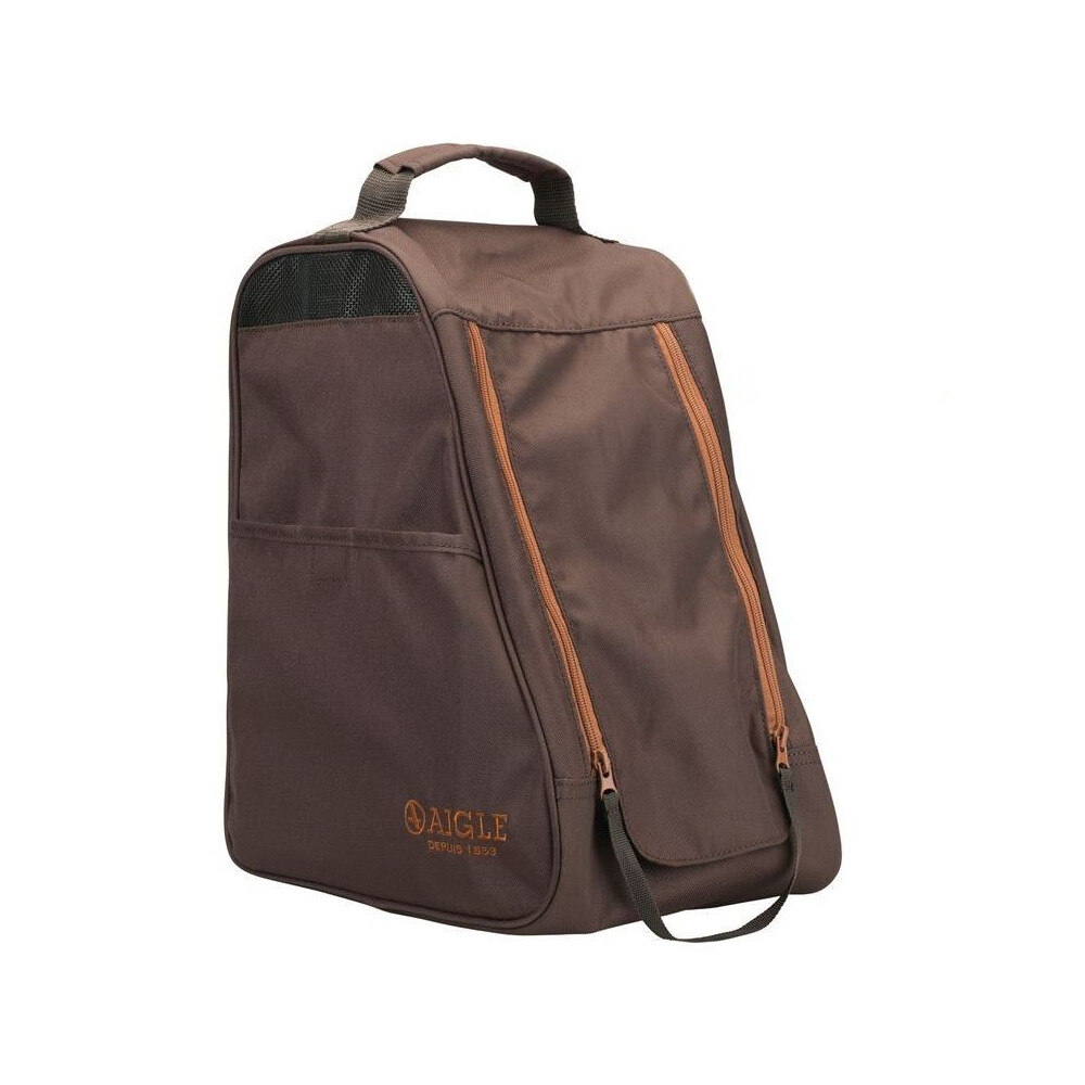 Aigle Wellington Boot Bag Brown