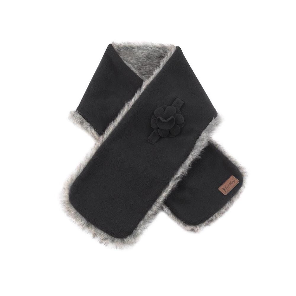 Jack Murphy Jack Murphy Gatsby Fleece Scarf - Black - One Size
