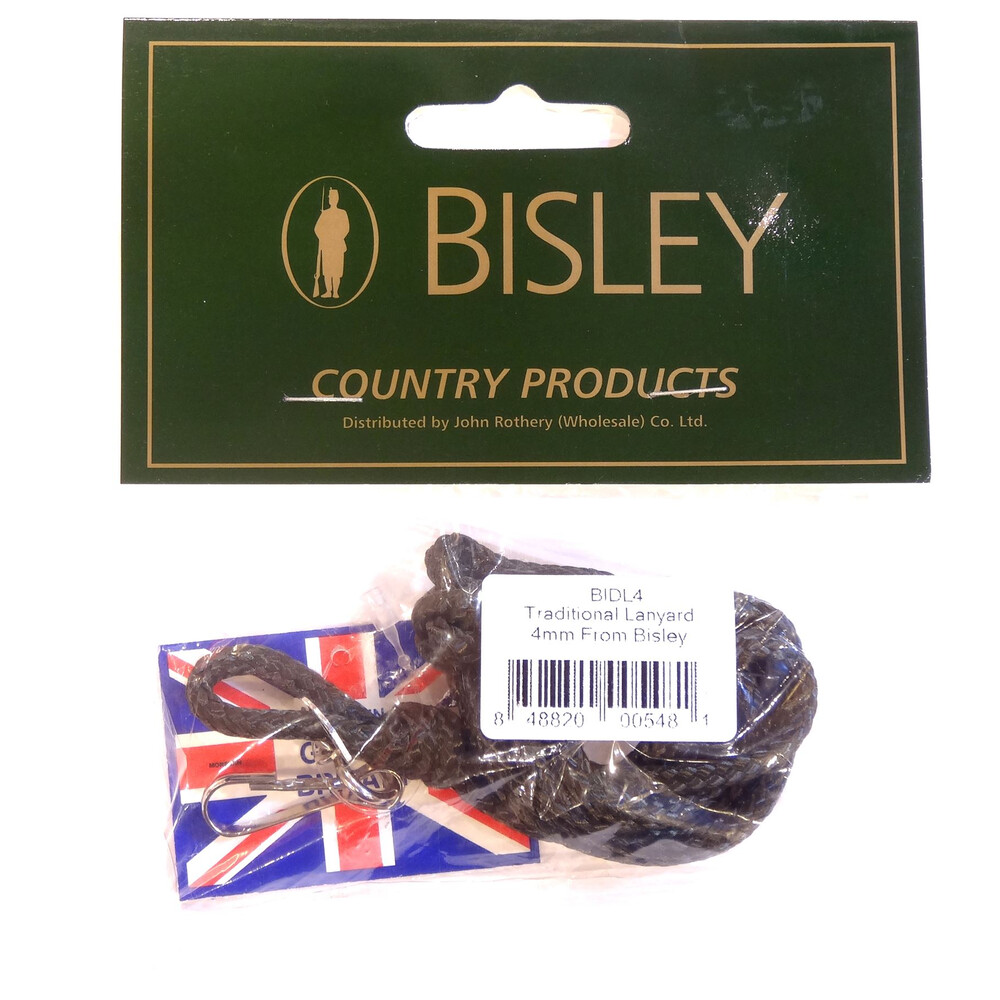 Bisley Traditional Lanyard - 4mm