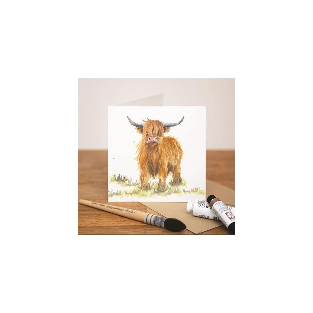 Kate Of Kensington Kate of Kensington Greeting Cards - Highland Cow
