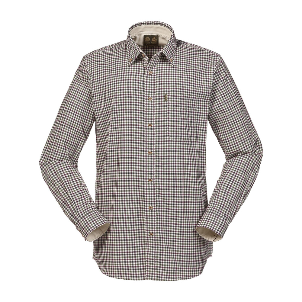 Musto Musto Classic Button Down Shirt - Carrick Check Vineyard