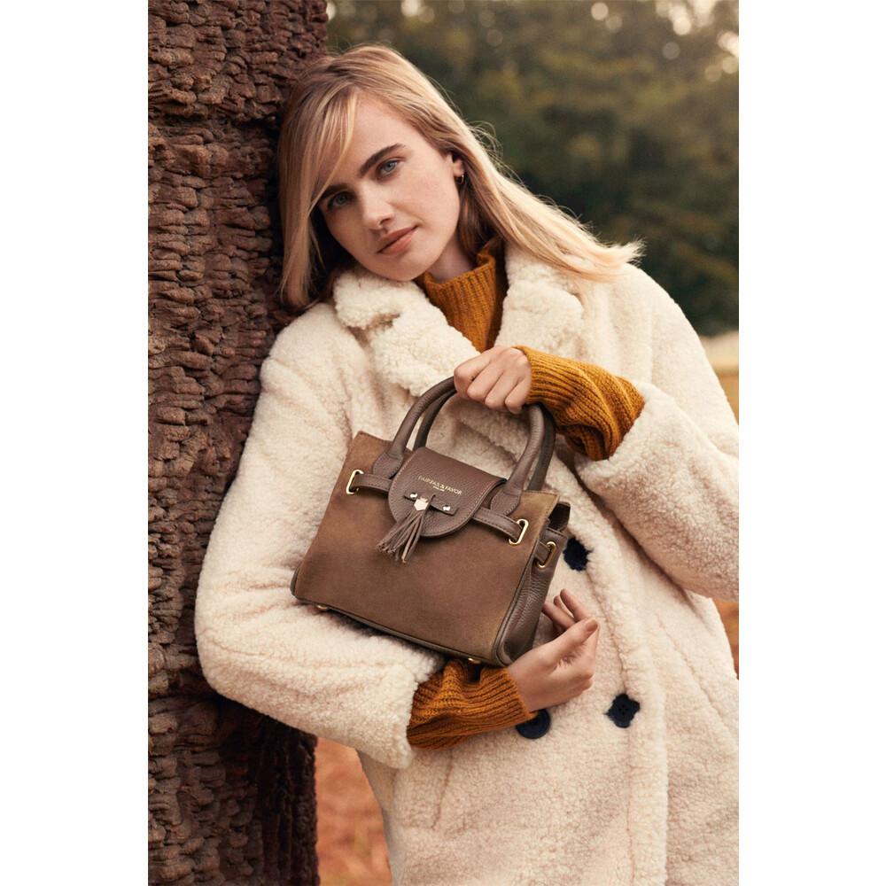 Fairfax & Favor Mini Windsor Handbag - Tan Tan