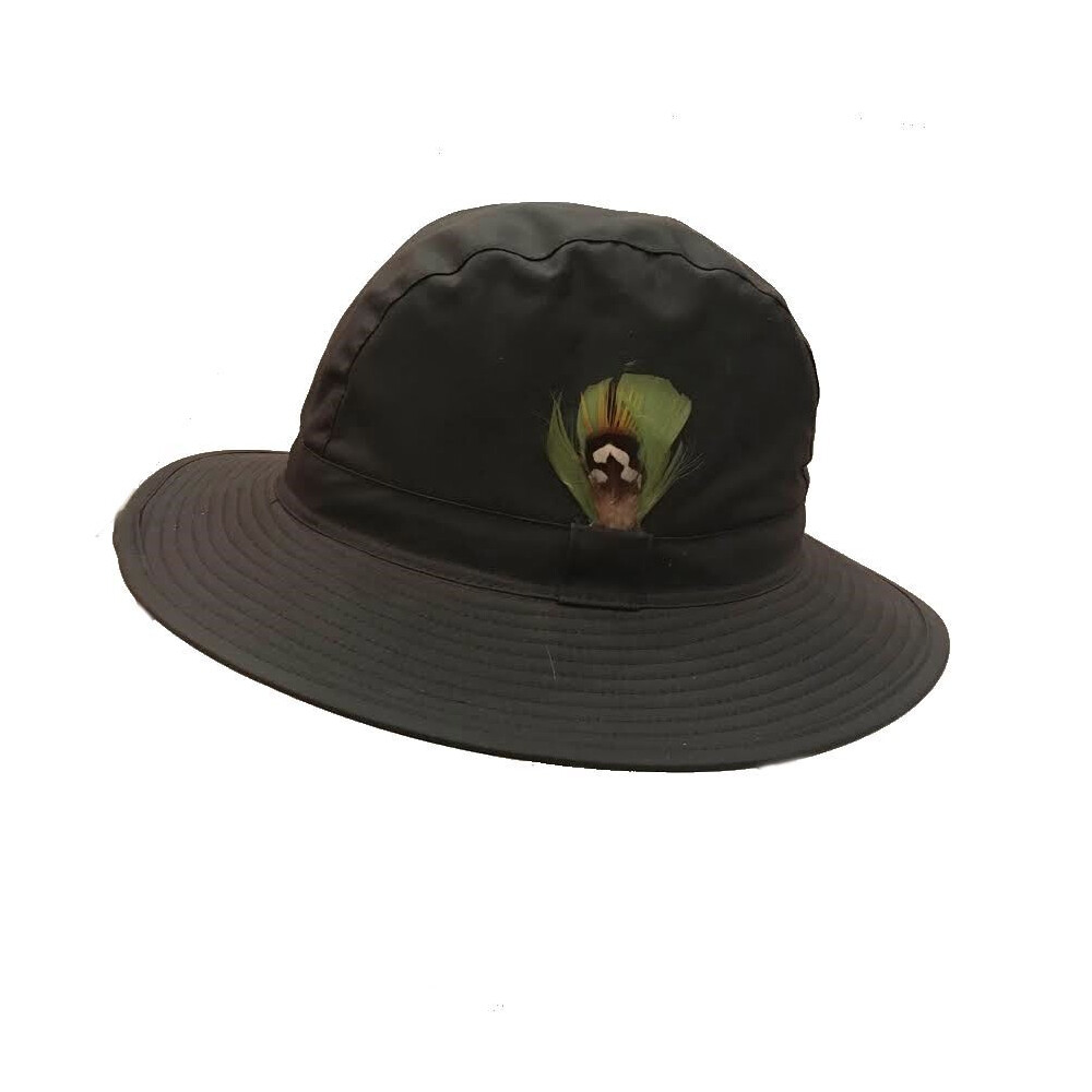 Jack Murphy Waxed Trilby Hat Brown
