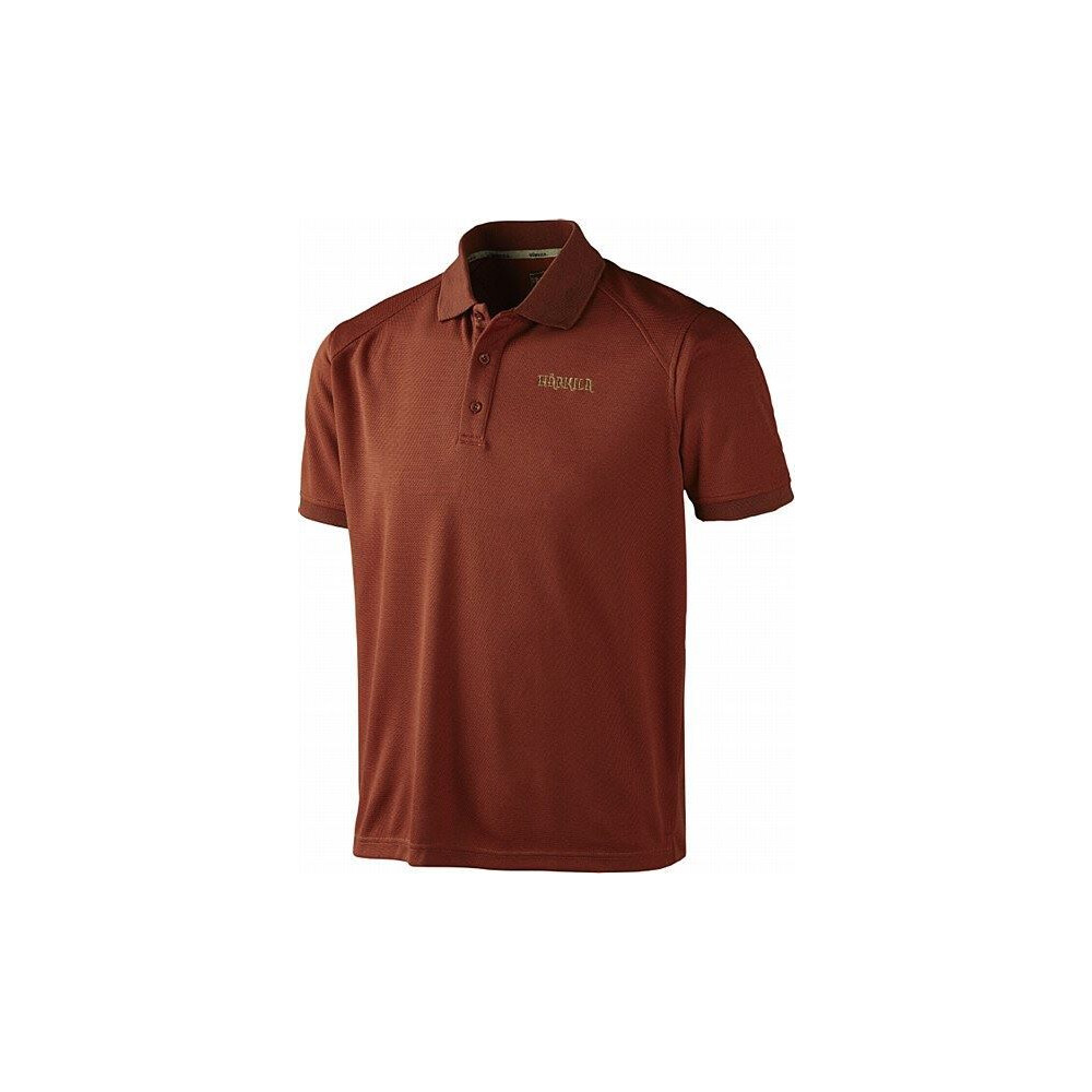 Harkila Harkila Gerit Polo Shirt - Burnt