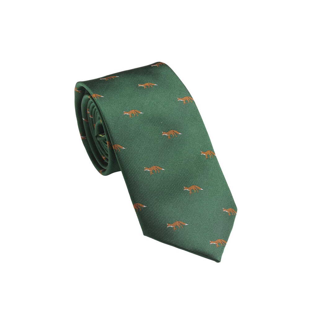 Laksen Laksen New Deer Tie - British Racing Green