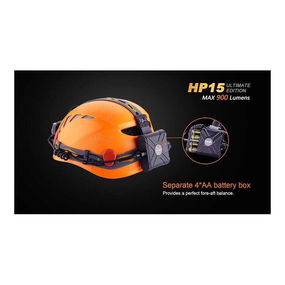 Fenix HP15 Ultimate Edition Headlamp Black