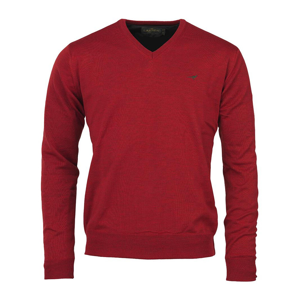 Laksen Laksen Grantham Windstopper Jumper - Spice in Red