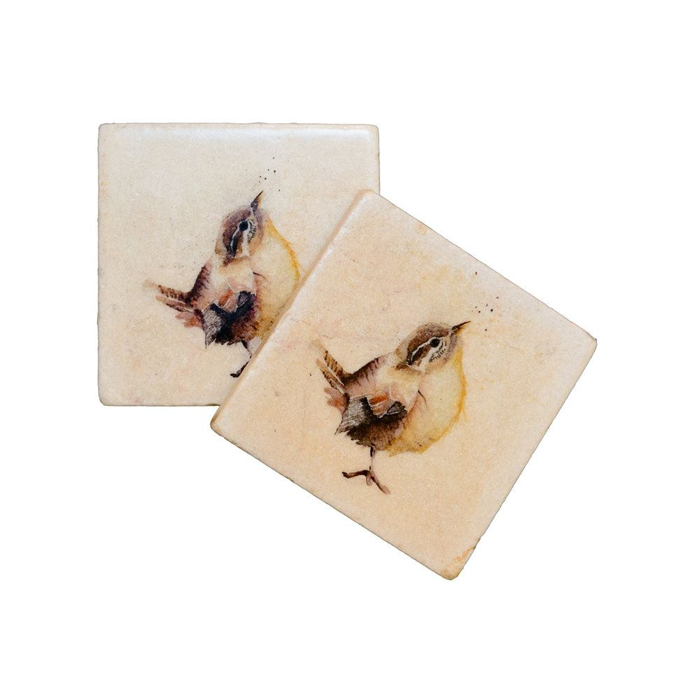 Kate Of Kensington Kate Of Kensington Coasters - Little Wren