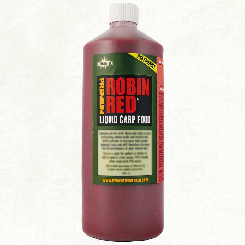 Dynamite Baits Liquid Carp Food - Robin Red