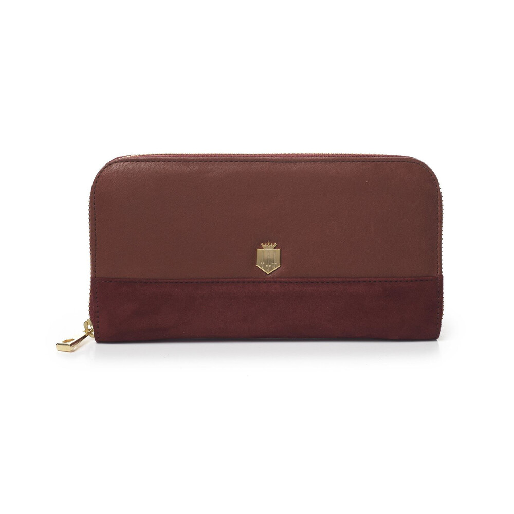Fairfax & Favor Fairfax & Favor Salisbury Purse - Persian Red