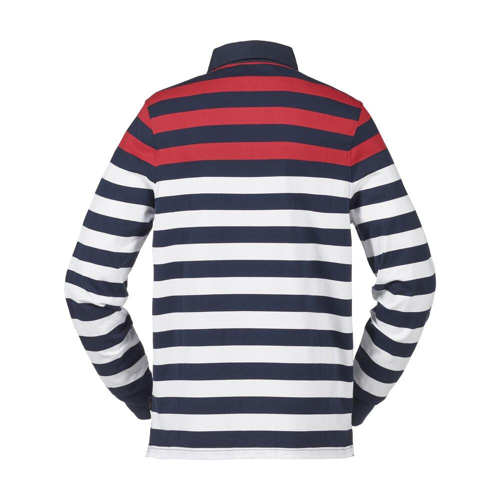 Musto Lawson Striped Rugby Top - True Navy - 2XL True Navy