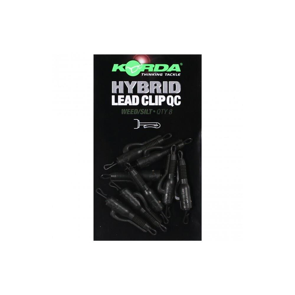 Korda QC Hybrid Lead Clip - Weed/Silt