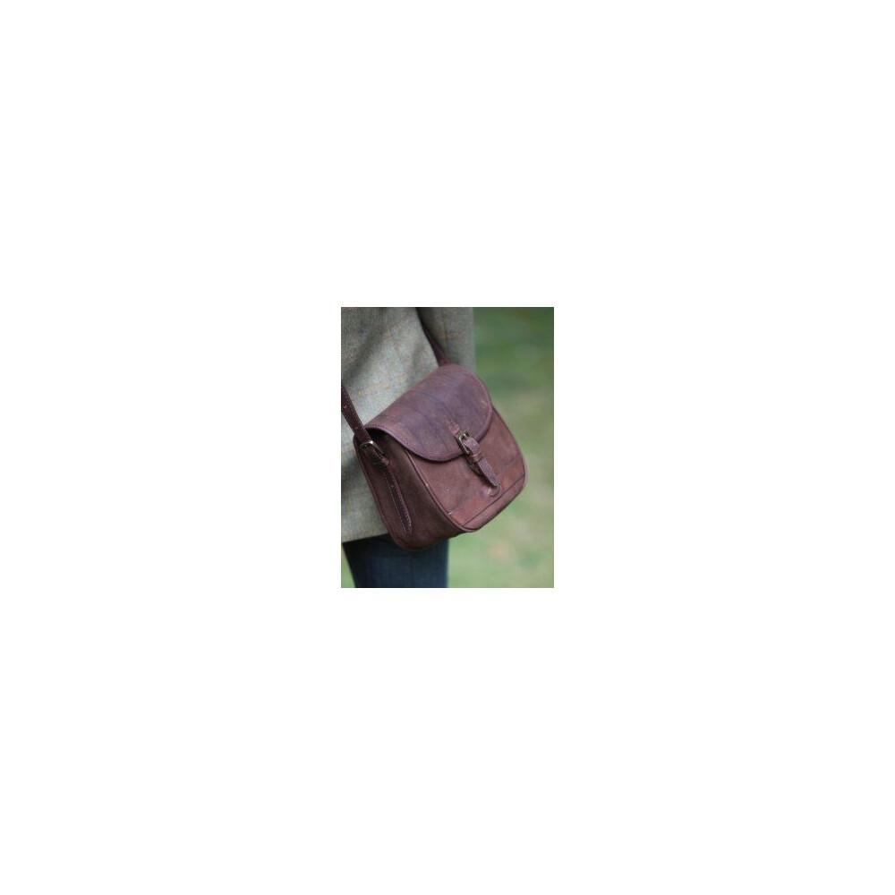 Dubarry Clara Saddle-Style Leather Bag - Walnut Walnut