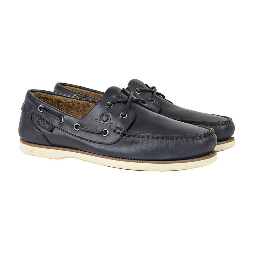 Chatham Newton Boat Shoe Navy
