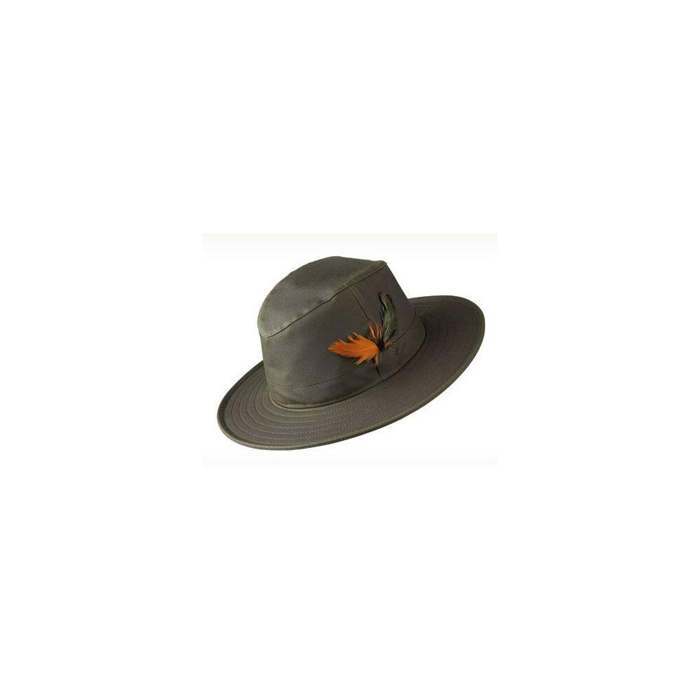 Olney Explorer Wax Hat - Olive Olive