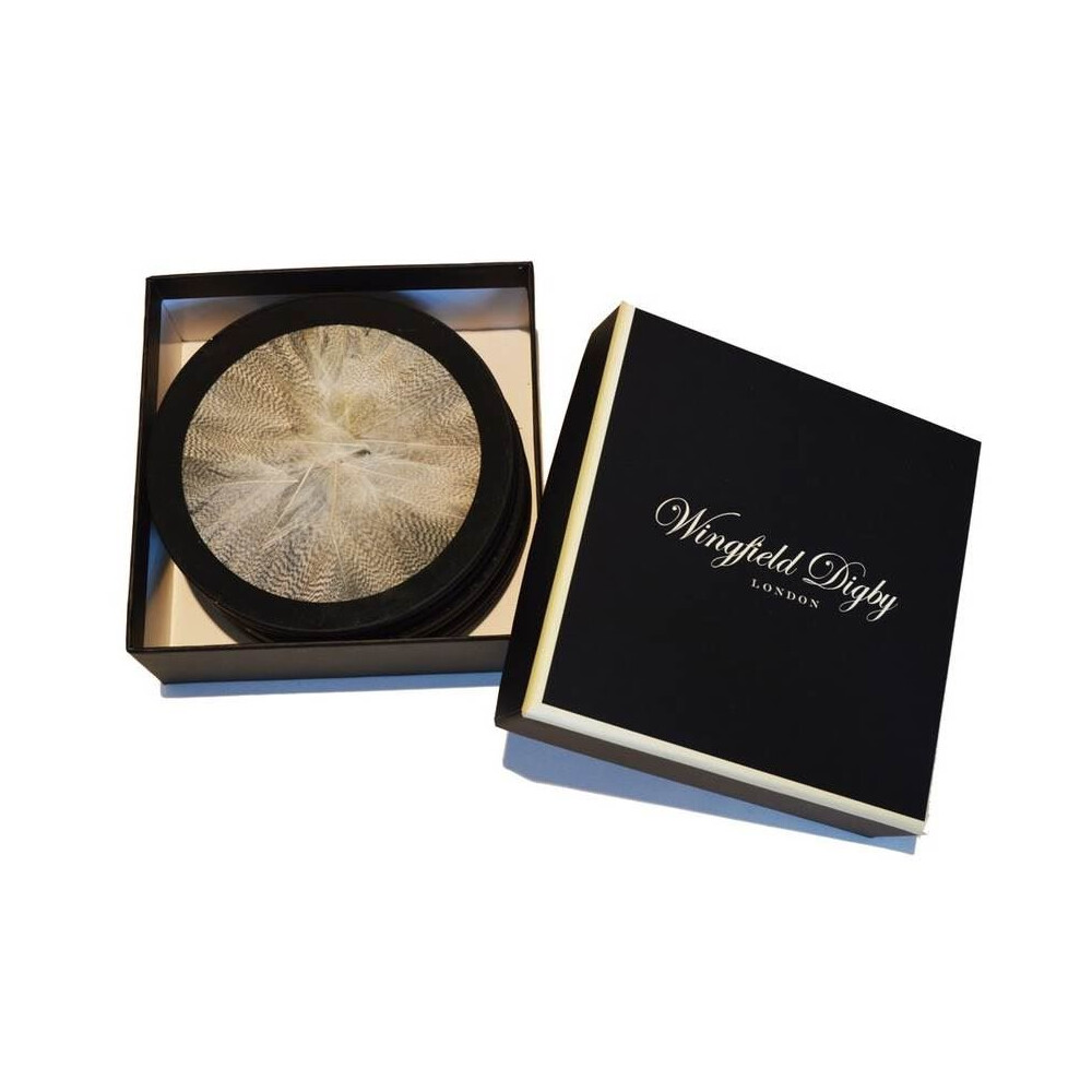 Wingfield Digby Wingfield Digby Coasters - Duck Feather - x6