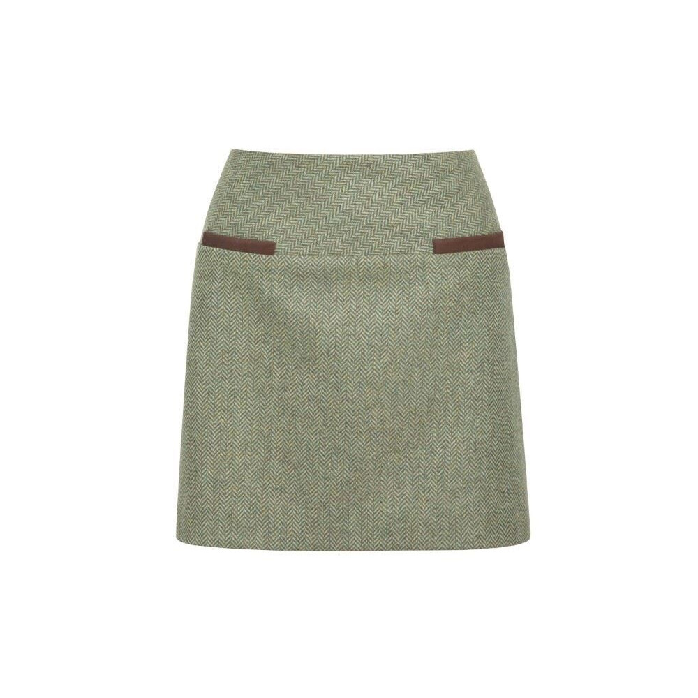 Dubarry Dubarry Clover Tweed Mini Skirt - Laurel