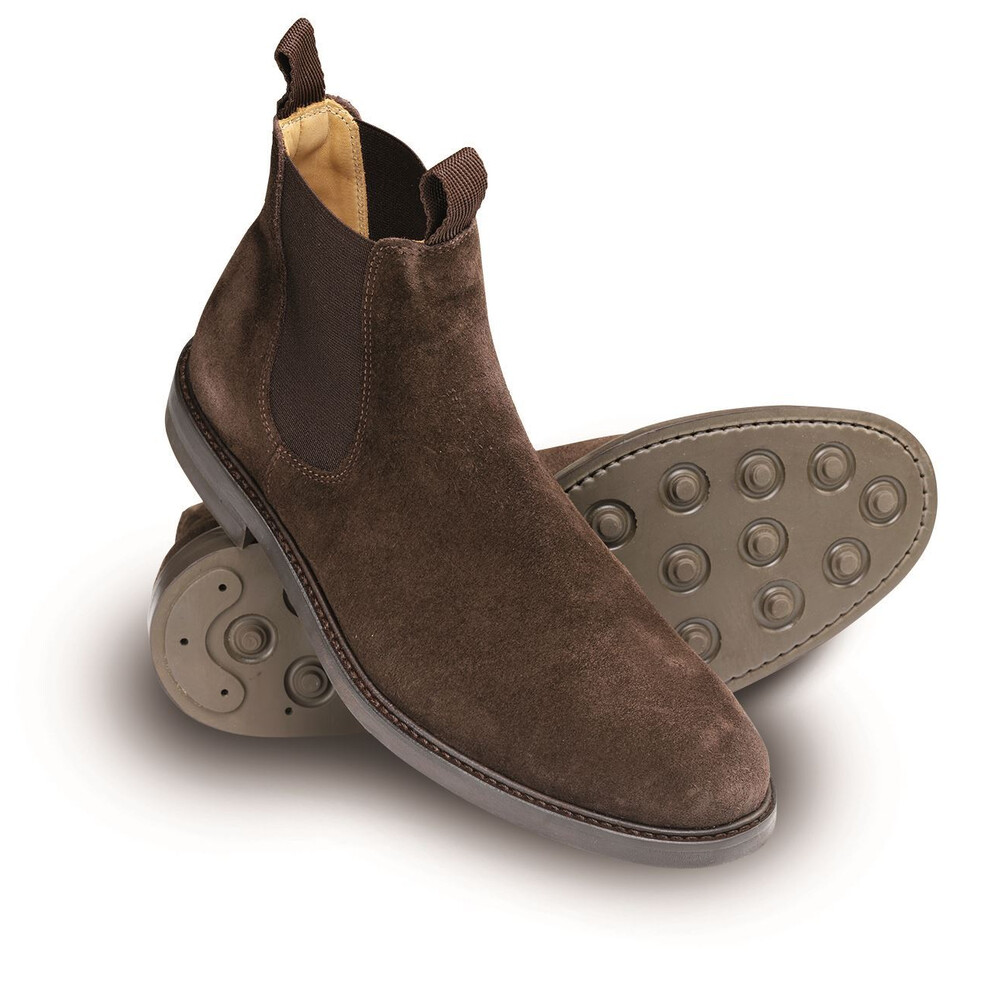 Laksen Chelsea Boot - Chocolate - UK 8 EU 42