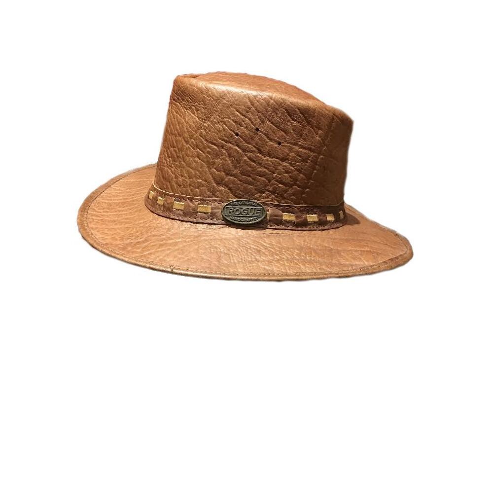 Rogue Rogue African Inyati Buffalo Leather Hat