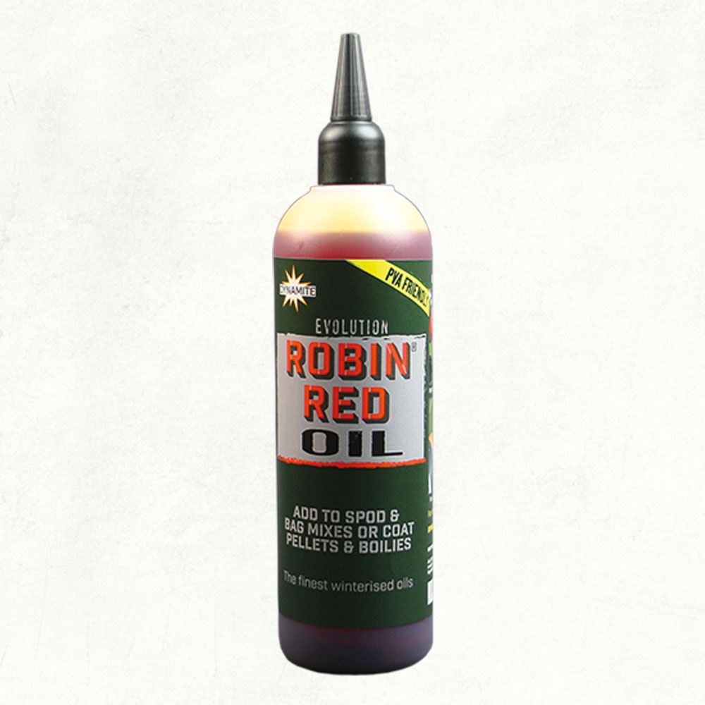 Dynamite Baits Evolution Oil - Robin Red