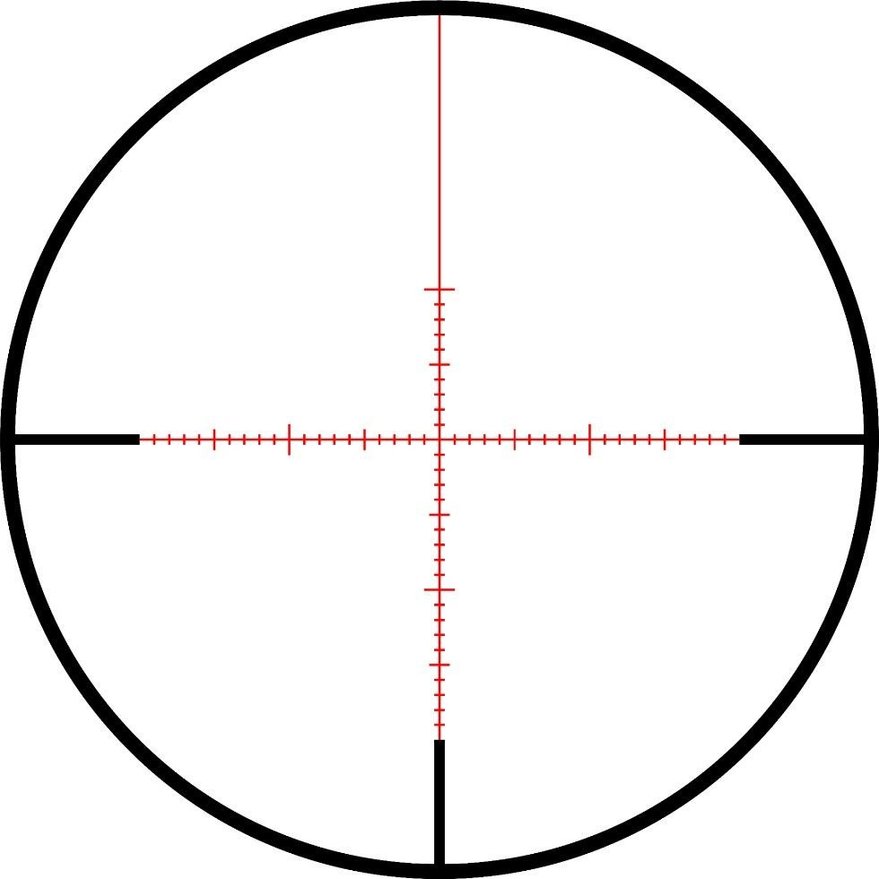 Zeiss Conquest V4 Rifle Scope - 4-16x50 - External Elevation - Illuminated Reticle #93 ZMOAi-1
