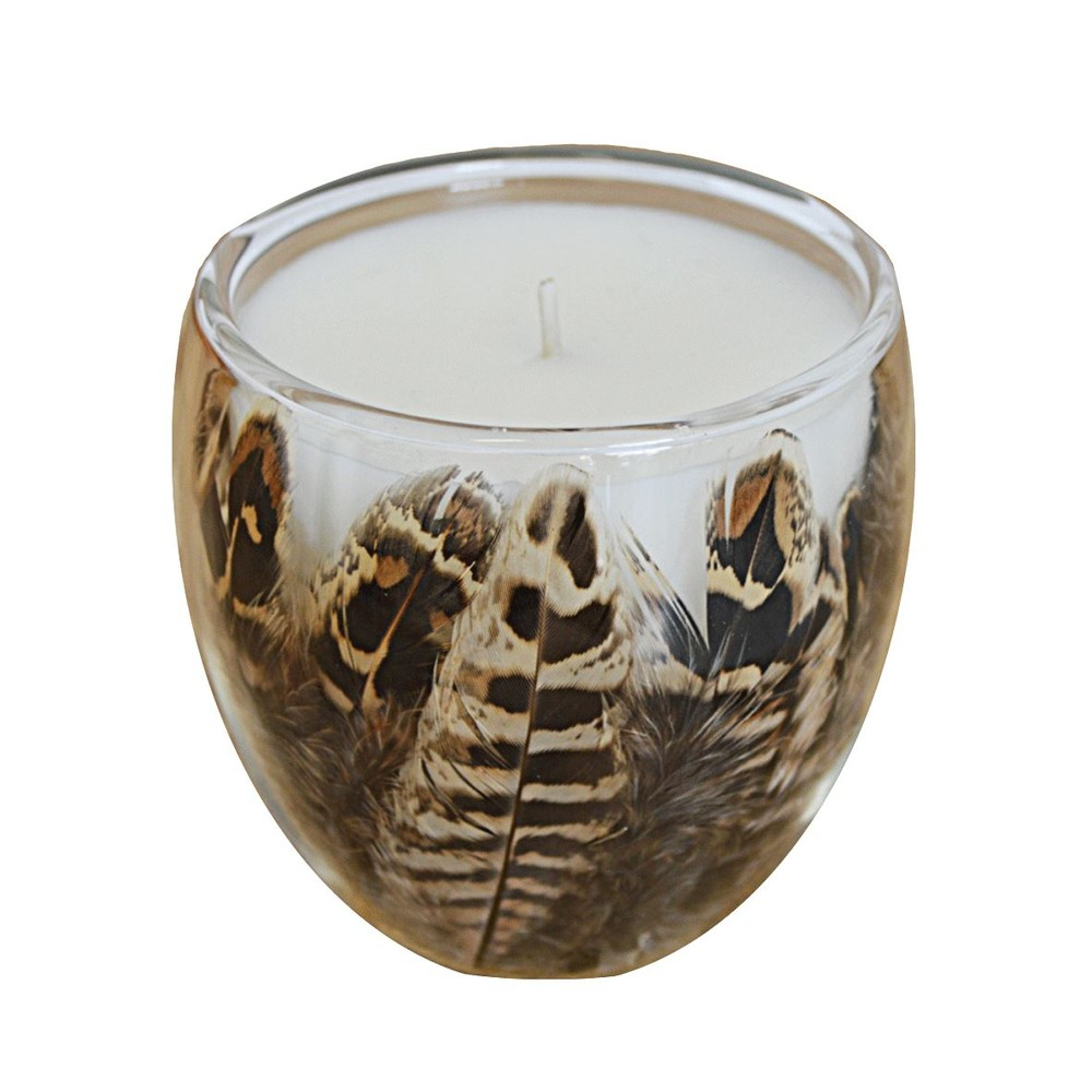 Wingfield Digby Candle - Cock Pheasant Feather - Winter Warmth Cock Pheasant