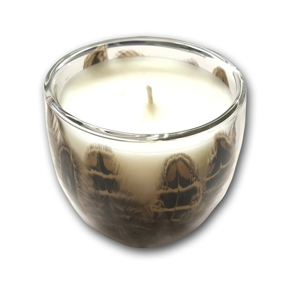 Wingfield Digby Candle - Hen Pheasant Feather - Greenhouse Tomato Hen Pheasant Feather