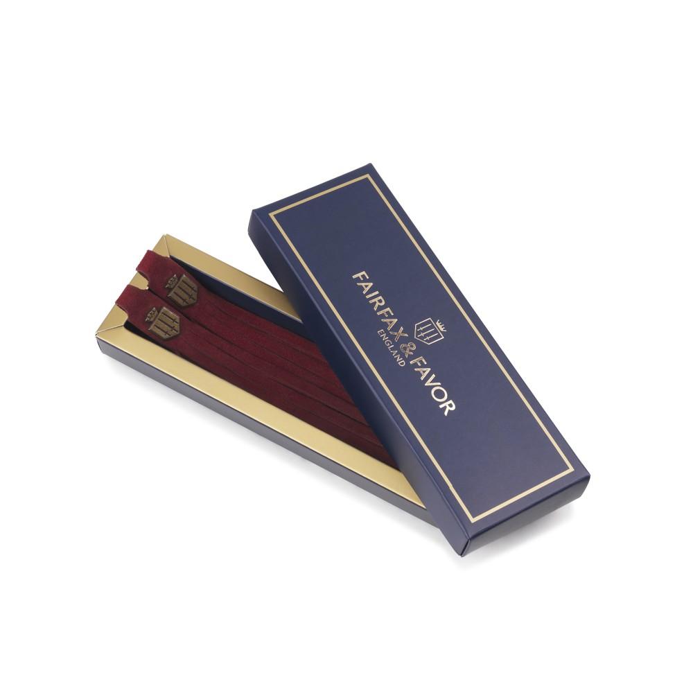 Fairfax & Favor Boot Tassels -  Burgundy Burgundy