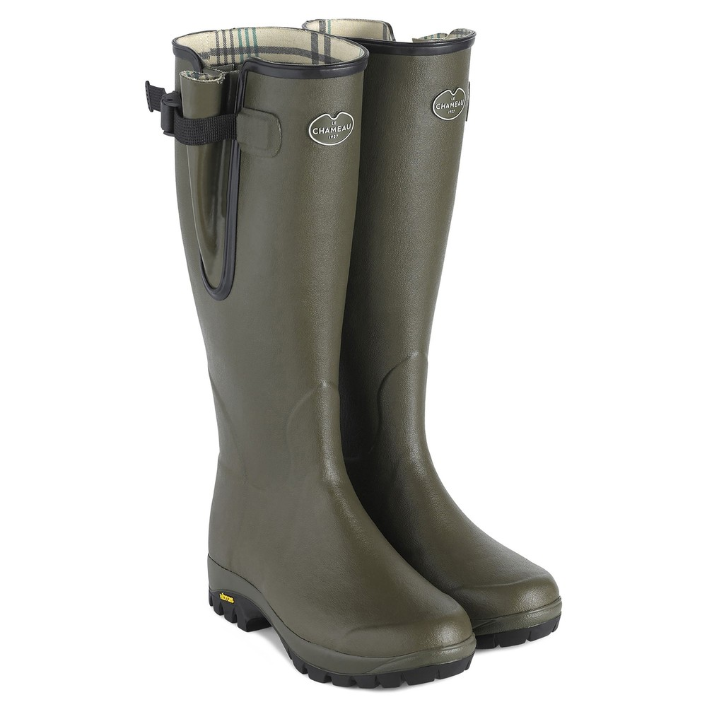 Le Chameau Le Chameau Vierzon Vibram Cotton Lined Wellington Boot