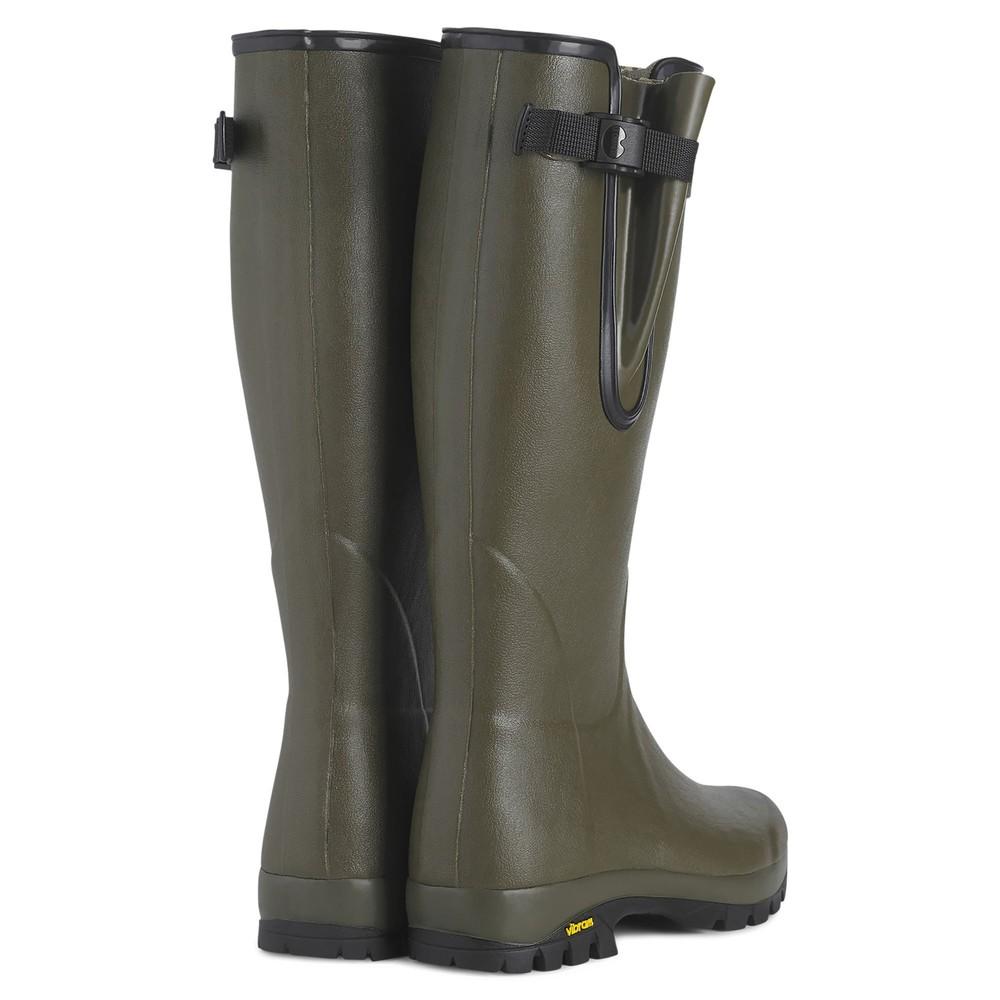Le Chameau Vierzon Vibram Jersey Lined Unisex Wellington Boots Vert Chameau