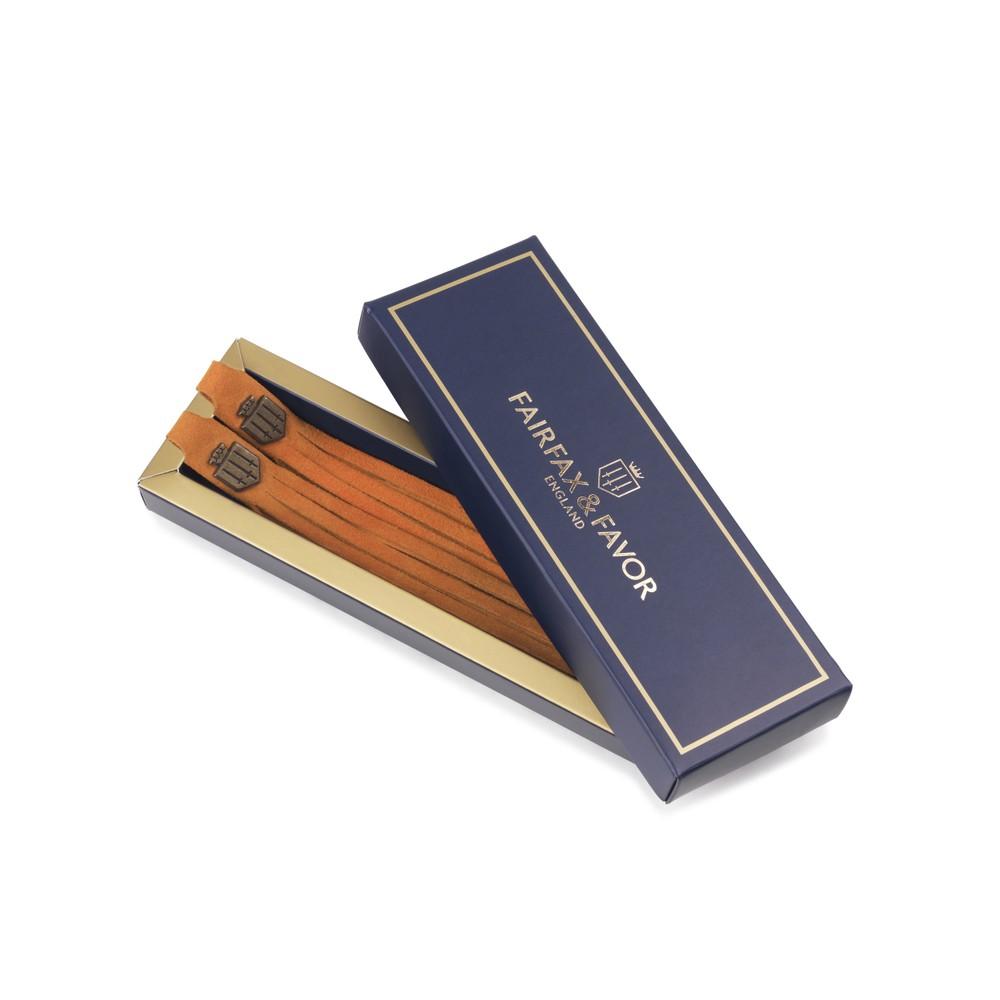 Fairfax & Favor Boot Tassels -  Tangerine