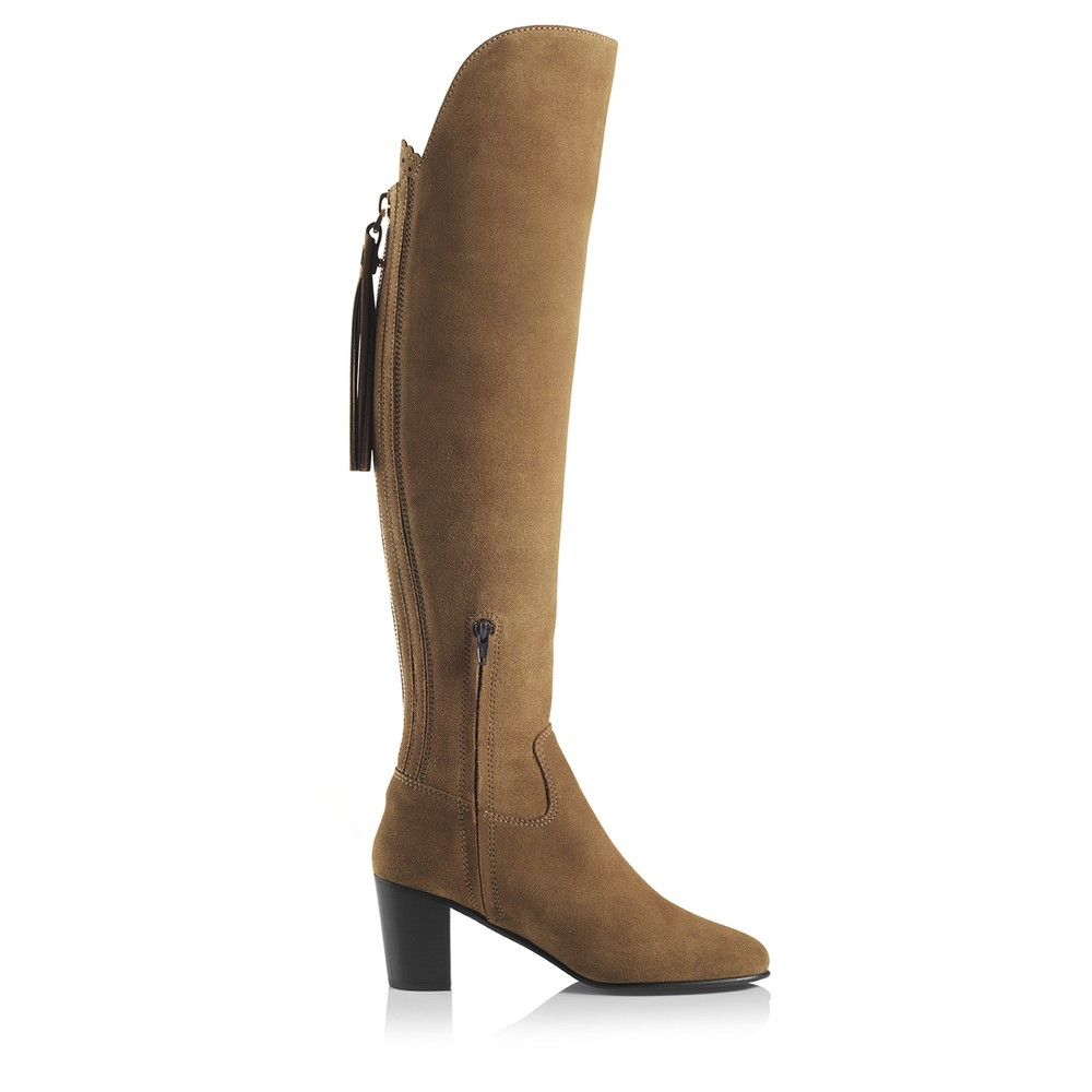 Fairfax & Favor Heeled Amira Boot Tan