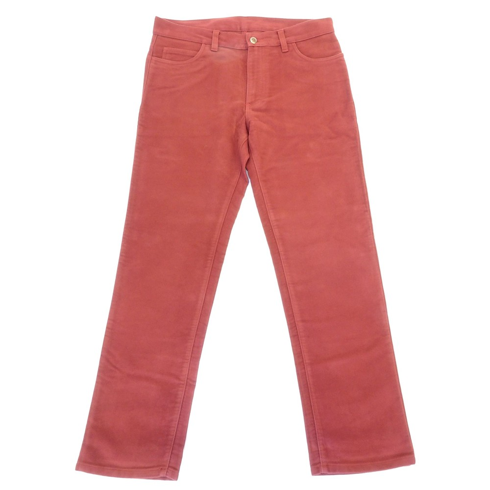 Allcocks Stonecutter Moleskin Trousers - Short Cranberry