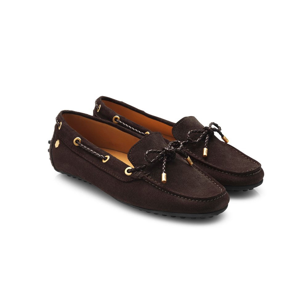 Fairfax & Favor Fairfax & Favor Henley Drivers Shoe - Chocolate