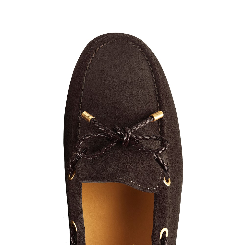 Fairfax & Favor Henley Drivers Shoe - Chocolate Chocolate