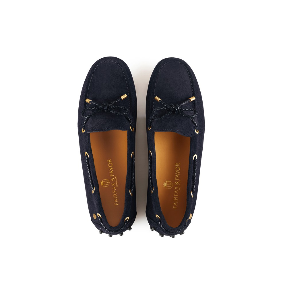 Fairfax & Favor Henley Drivers Shoe - Navy Navy