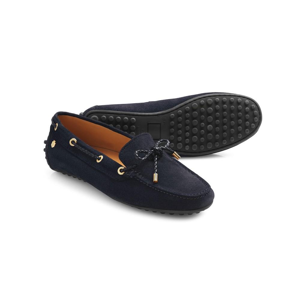 Fairfax & Favor Henley Drivers Shoe Navy