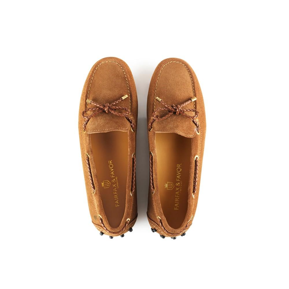 Fairfax & Favor Henley Drivers Shoe - Tan Tan