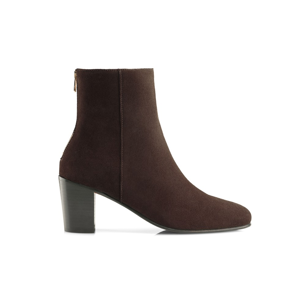 Fairfax & Favor Knightsbridge Ankle Boot - Chocolate Chocolate