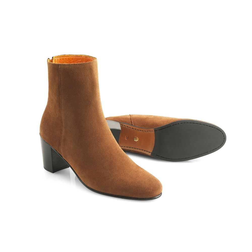 Fairfax & Favor Knightsbridge Ankle Boot - Tan Tan