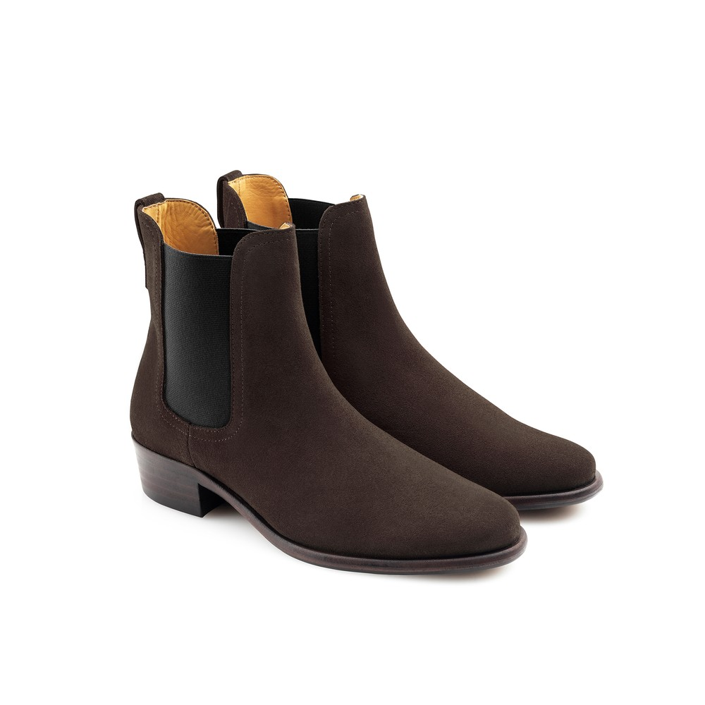 Fairfax & Favor Fairfax & Favor Ladies Chelsea Boot - Chocolate
