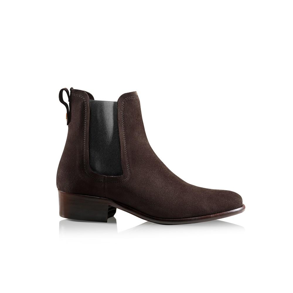 Fairfax & Favor Ladies Chelsea Boots Chocolate