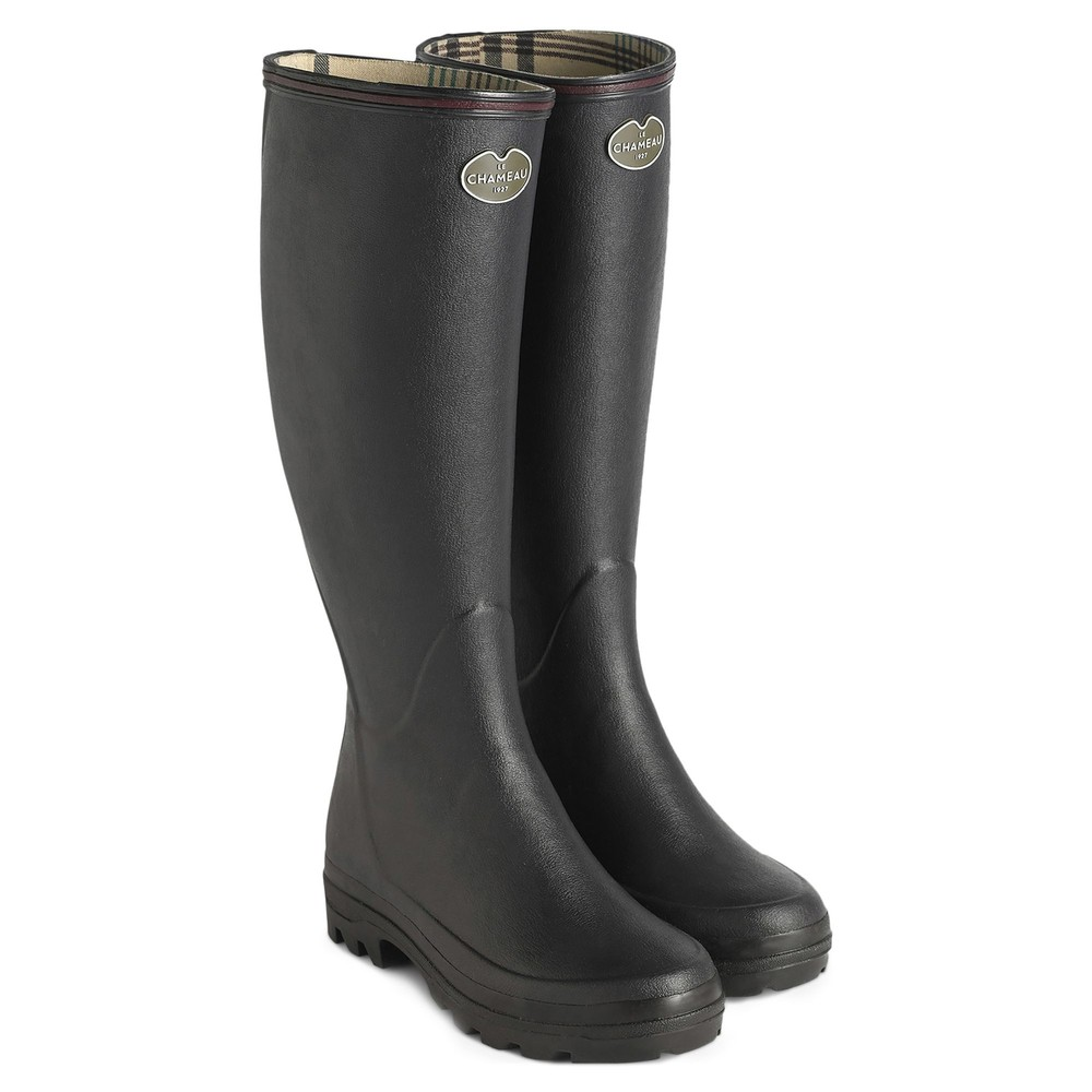 Le Chameau Giverny Ladies Wellington Boots Black