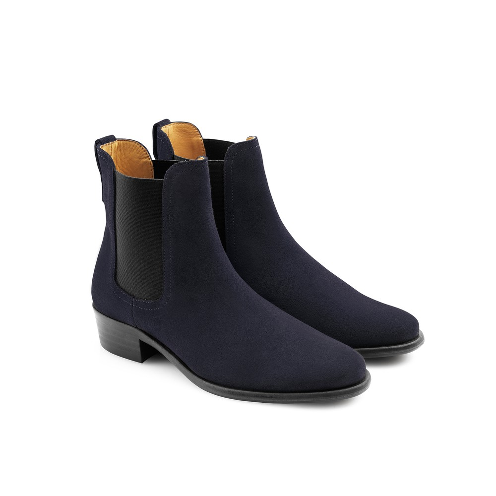 Fairfax & Favor Fairfax & Favor Ladies Chelsea Boot - Navy