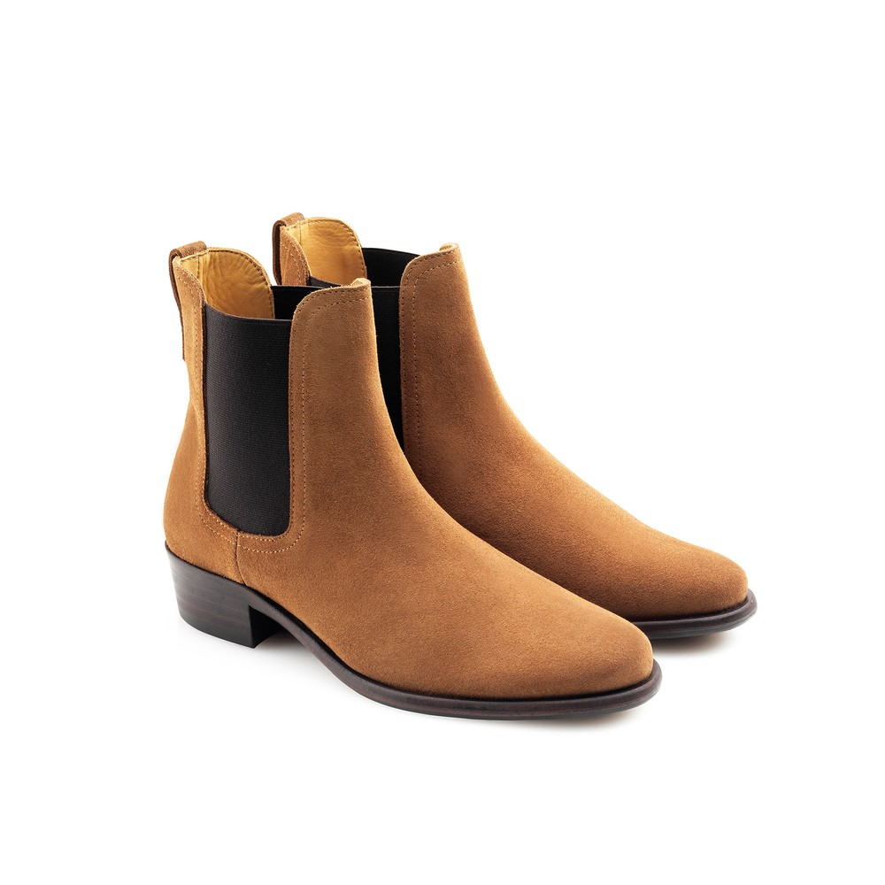 Fairfax & Favor Fairfax & Favor Ladies Chelsea Boot - Tan