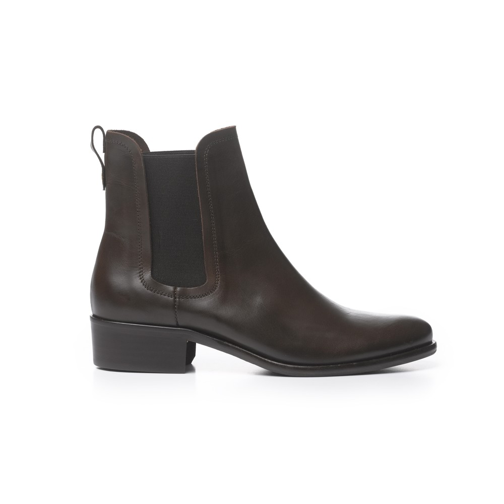 Fairfax & Favor Ladies Chelsea Leather Boot Brown