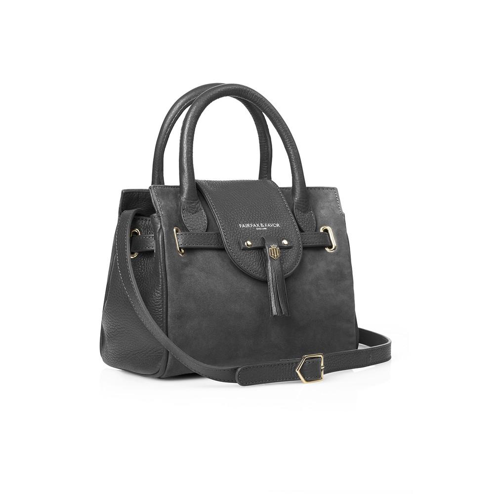 Fairfax & Favor Fairfax & Favor Mini Windsor Handbag - Grey