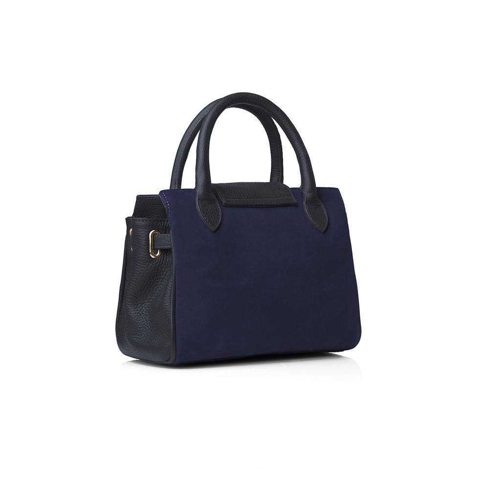 Fairfax & Favor Mini Windsor Handbag Navy