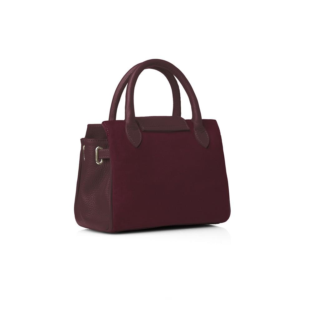 Fairfax & Favor Mini Windsor Handbag - Oxblood Oxblood