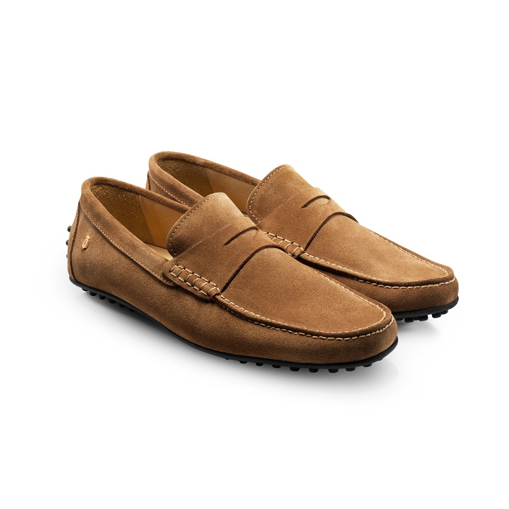 Fairfax & Favor Monte Carlo Driver Shoe -Tan